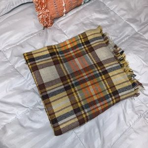 Large J. Crew blanket scarf